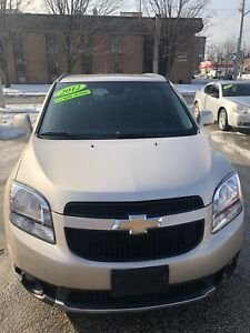 (SOLD SOLD SOLD) 2012 CHEVROLET ORLANDO 2LT 7 PASSENGERS 4 CYL