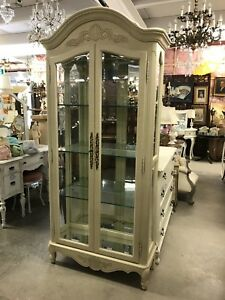 Curio cabinet French style