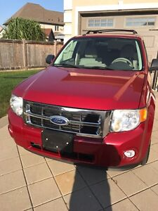 2010 Ford Escape XLT with low kilometres in excellent condition