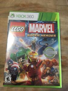 X-box Xbox 360 LEGO marvel super heroes. Sealed.