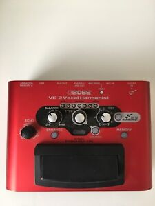 VE-2 Boss Vocal Harmony Pedal