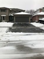 Last minute snow removal