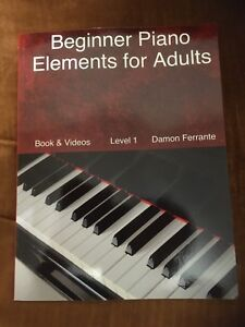 Beginner for Piano: Elements for Adults