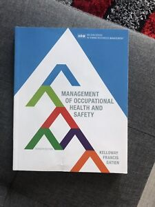 Management of occupational health and safety 7th editon