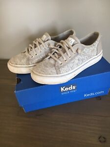 Slip on Keds size 10.5 little girl