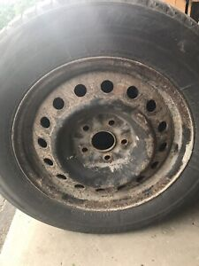"""16"""" rims and tires 215/65/16"""