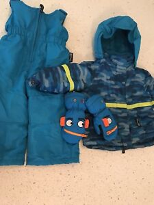 Thibsulate two piece snowsuit 12 months