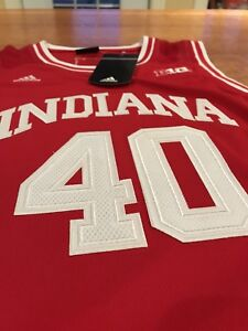 Indiana Hoosiers Basketball Jersey Size Large Adidas New