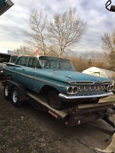 1959 Chevrolet Parkwood Wagon. Nice shape 1959'  Very Reasonable