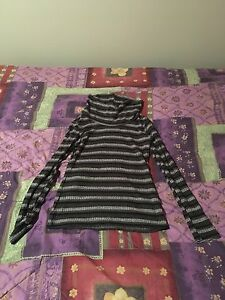 Worn once, Women's size small striped  shirt