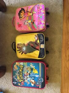 Kids suitcases