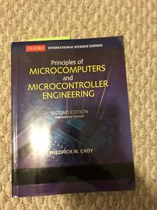Principles of Microcomputers and Microcontroller Engineering