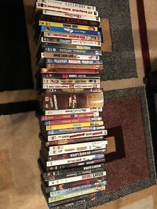 41 DVDs & 2 Blu-Rays / Mostly Comedies, Thrillers & Horror