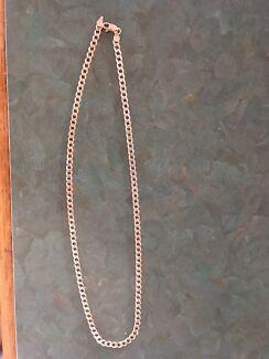 Men's necklace sterling silver