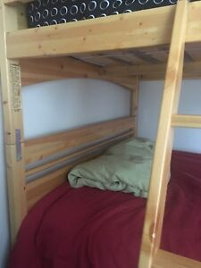 Double bed bunk beds