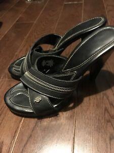 Sandales Harley Davidson 6.5 et autre (3 paires)