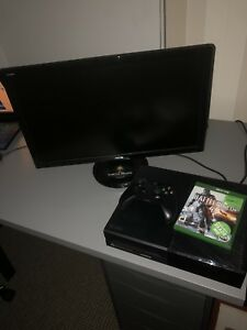 Xbox One 1TB with Asus monitor