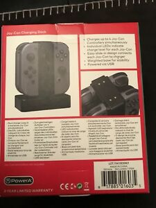 Switch Nintendo joy-con charging dock