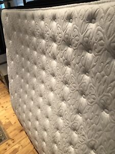 Barely used Sealy pillow top pocket coil mattress for sale