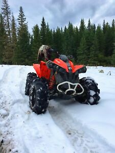 2016 Can Am Renegade 850 ( Looking to trade for a Harley )