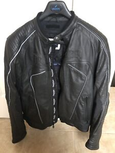 Triumph leather motorcycle jacket and pants