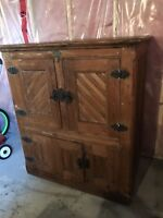 Antique Icebox from 1883