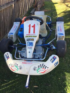 1st Racing Kids Go Kart -Negotiable $