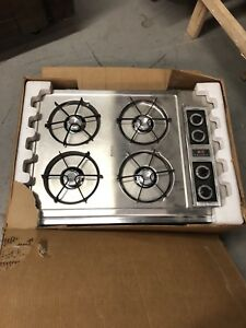 Retro Caloric gas cooktop 30inch new in box never used