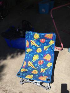 Kids beach chair.
