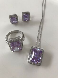 ELLANI Collections Set Ring, Earrings and Necklace