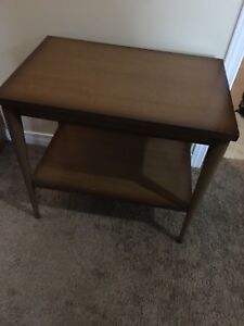 Old side table
