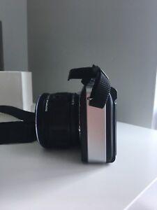 Olympus camera & case