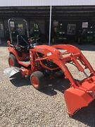 """Kubota BX2360 23HP 4wd Tractor with Loader and 54"""" Mower Deck AS NEW Woodside Adelaide Hills Preview"""