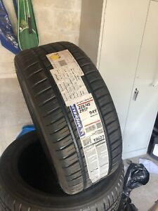 2-225/45r17 brand new Michelin pilot sport as3+