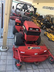 Steiner 420 with mower.