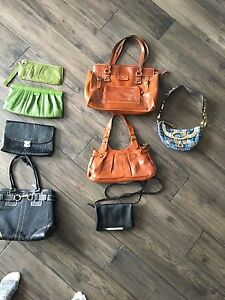 Various bags and clutches