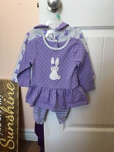 3pc Easter outfit  size 12M