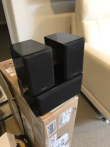 Tannoy HTS 3.0 system in piano black