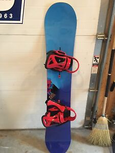 Burton Process 157 barely used snowboard