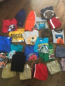 Boys size 5 summer clothes lot