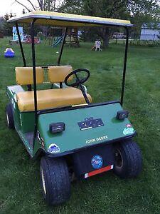 Ez-go 2 stroke golf cart