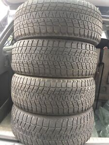 4-245/55R19 Bridgestone winter tires