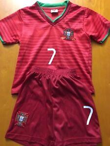 Kids jerseys soccer Ronaldo