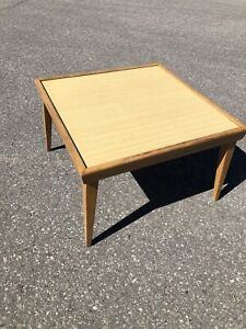 "Retro mid century coffee table 26"" x 26"""