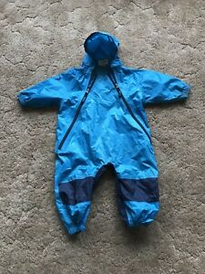Toddlers one piece rain suit