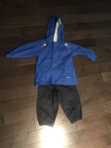 Waterproof suit (sz 12-18M)