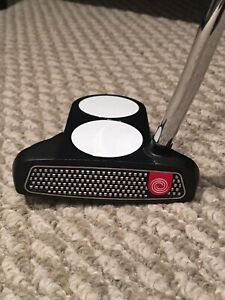 New condition odyssey 2 ball O-works putter for sale