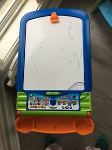 Vtech double faced easel/electronic