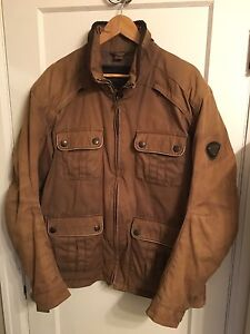 Triumph Cafe Racer Motorcycle Jacket
