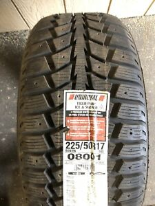 ONE NEW UNIROYAL TIGER PAW SNOWTIRE